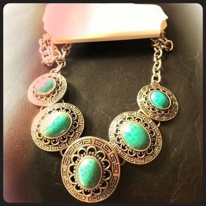 Brand New Turquoise Style Necklace